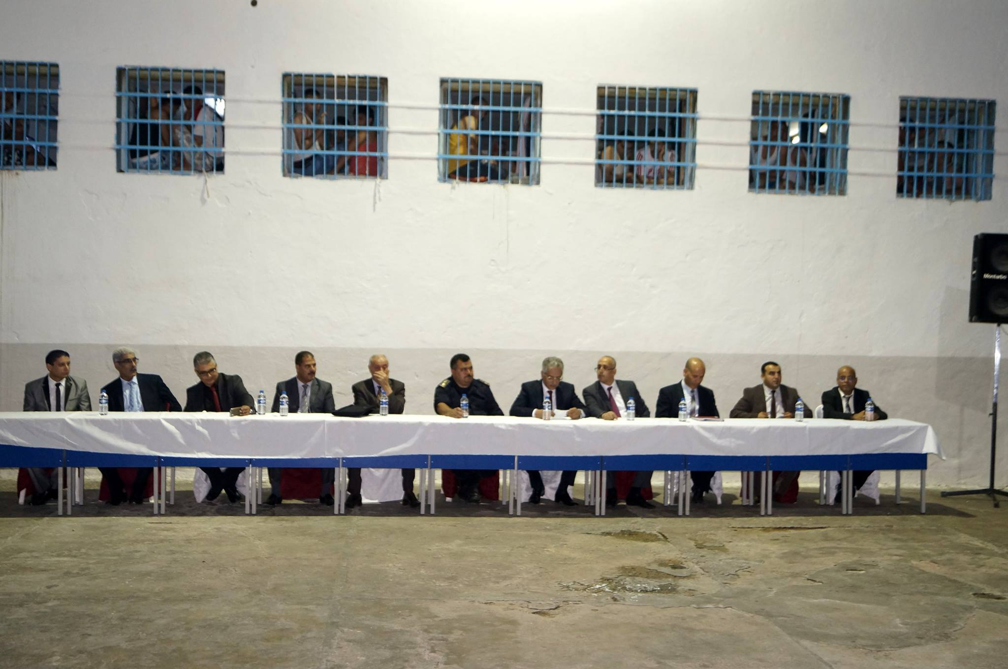 استياء كبير من صورة وزير العدل في سجن المهدية