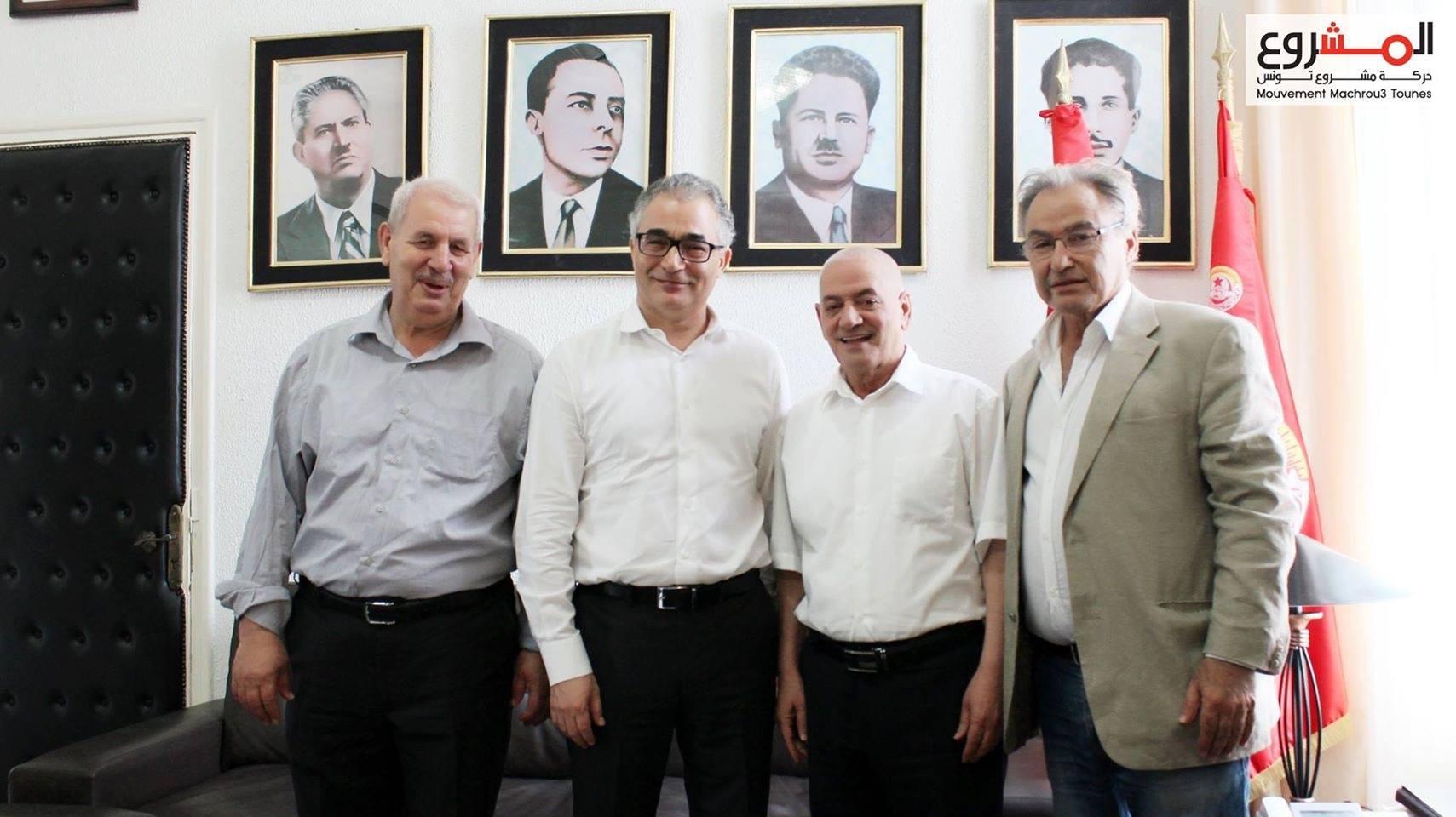 ماذا يفعل محسن مرزوق في مكتب حسين العباسي؟