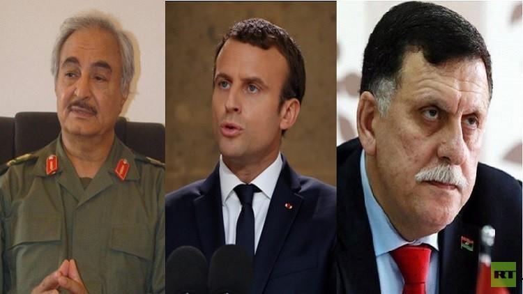 غدا : محادثات بين حفتر والسرّاج في باريس
