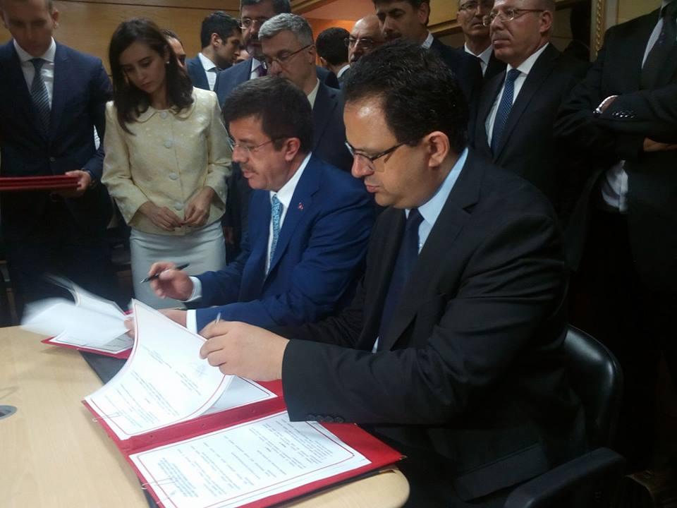 زياد العذاري : سنُمضي اتفاقا مع تركيا لحماية استثماراتها في تونس