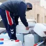 كانت تروج في خزانات بلاستيكية : إتلاف 4000 لتر من مياه الشرب بالقيروان