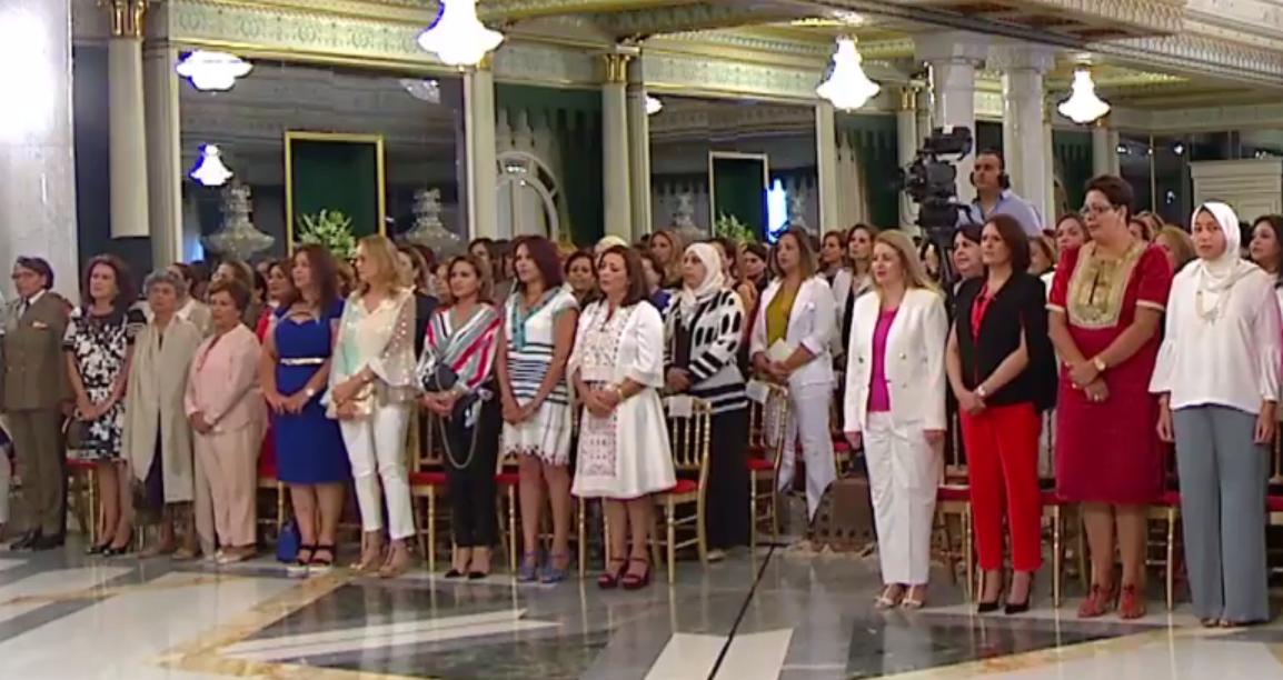 في عيد المرأة : رئيس الجمهورية يُكرّم ثلّة من التونسيات المتألّقات
