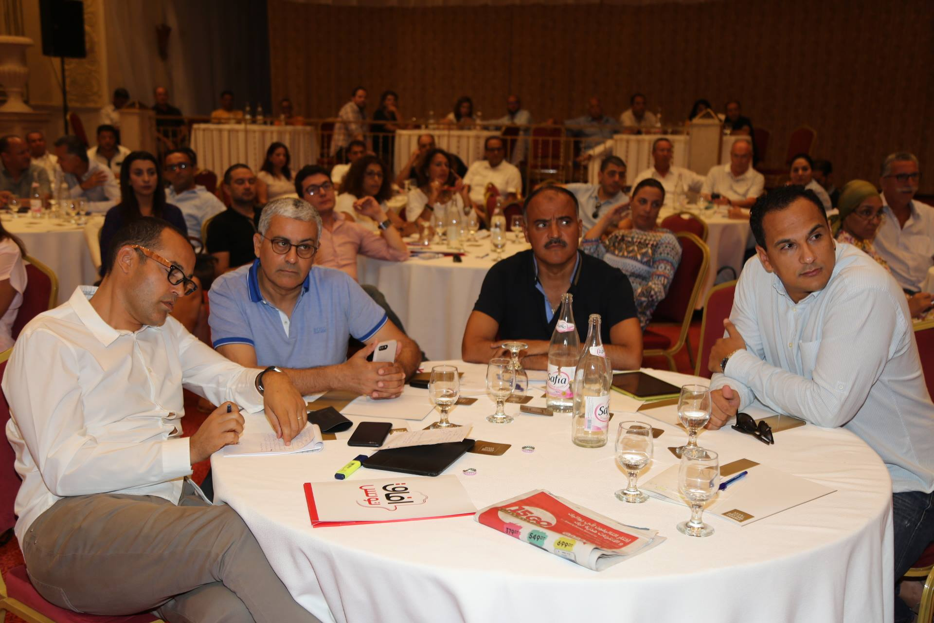 منها طرح تحالف جديد على الشاهد : خطة أفاق تونس لضرب حلف النهضة والنداء من داخل الحكومة!