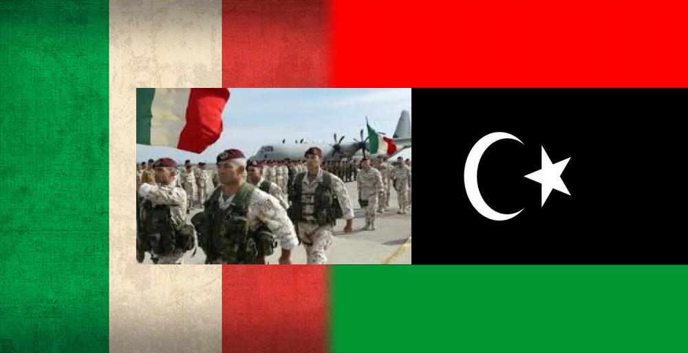 البرلمان الإيطالي يُصوّت على إرسال قوّات عسكريّة إلى ليبيا والنيجر!!