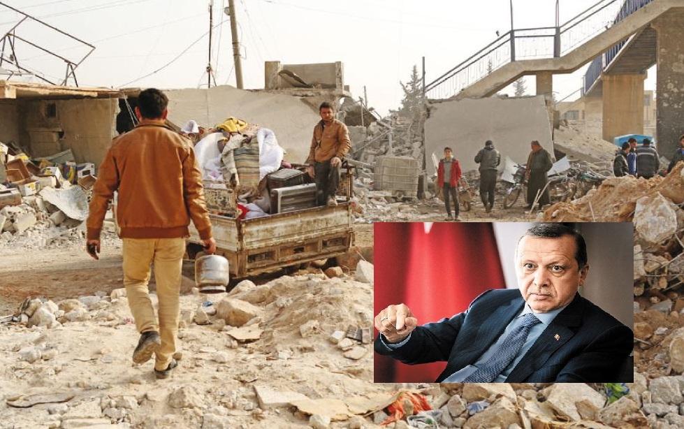هجوم تركي وشيك على سوريا : الأكراد يتوعّدون بحفر مقبرة لأردوغان وجيشه في عفرين