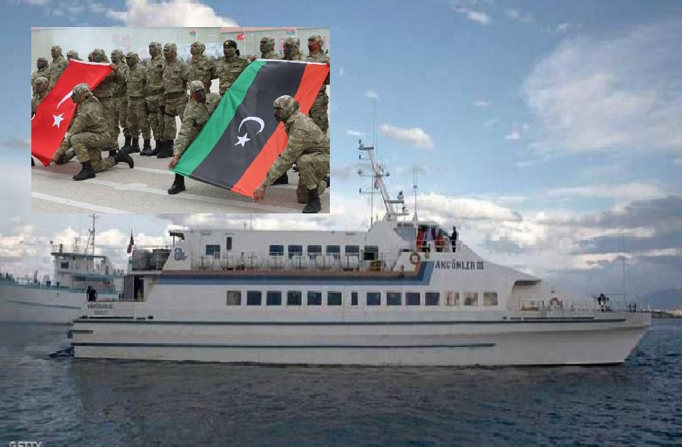 ليبيا : مصراتة تتبرّأ من شحنة المتفجّرات القادمة من تركيا رغم الحظر الدولي!