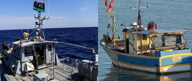 ليبيا : احتجاز مركب صيد تونسي وإفلات آخر رغم رميه بالرصاص!