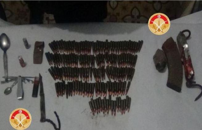 العملية العسكرية بجبل سلّوم متواصلة : التحقيق مع الارهابي الموقوف وحجز أسلحة