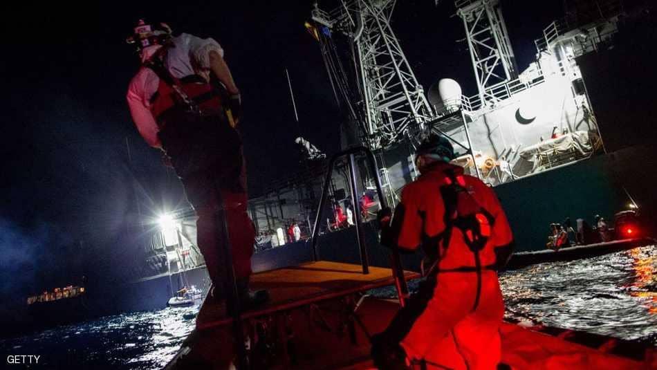 ليبيا: غرق زورق يقلّ 125 مهاجرا .. وحصيلة الضحايا مجهولة