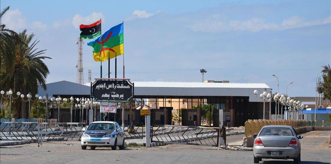 بعد اتفاق الأطراف الليبية: استئناف الحركة بمعبر راس جدير