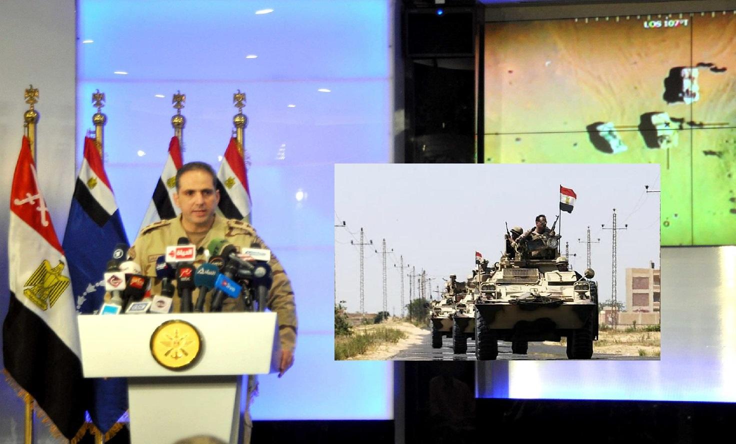 """مصر تُعلن نتائج عملية """"سيناء 2018"""" : القضاء على 53 تكفيريا واعتقال 680 عنصرا…"""