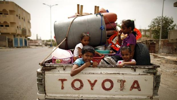 الأمم المتحدة : الحرب في اليمن هجّرت 85 ألف شخص خلال شهرين