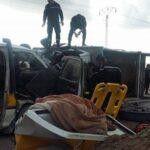 بين جرار وشاحنة ونقل ريفي : حالة وفاة و10 مصابين وحالات حرجة في حادث زغوان