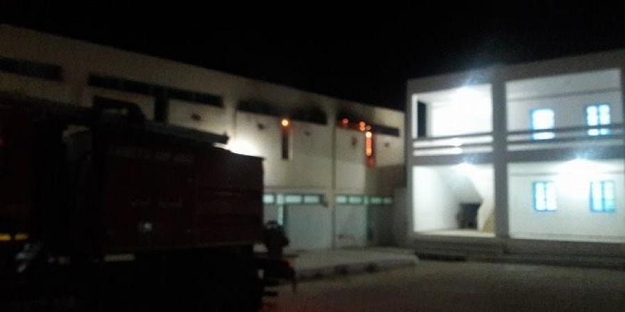 حريق مبيت الفتيات بتالة: وزارة التربية تتّهم اتحاد الشغل ضمنيّا بترويج الاشاعات!