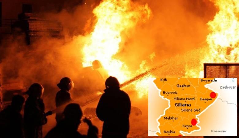 لولا فطنتهنّ لحصلت الكارثة : نجاة تلميذات مبيت كسرى من حريق هائل