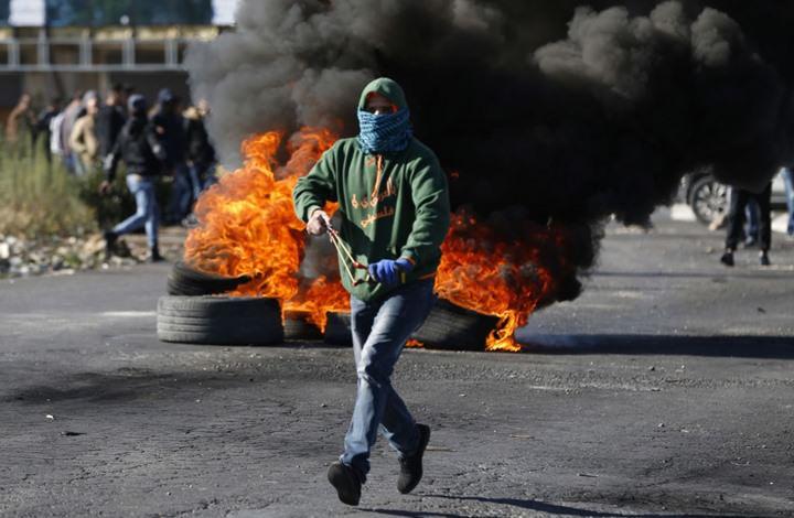إصابة 57 فلسطينيا في مواجهات مع القوات الإسرائيلية