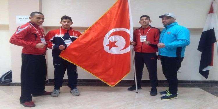 ملاكمة : تونس تحرز 6 ميداليات في البطولة العربية للأواسط بمصر