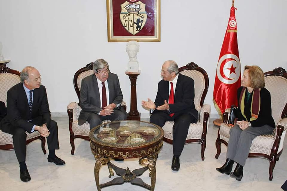 تتواصل 3 أيام: رئيس مجلس جمهورية البرتغال يفتتح زيارته لتونس من البرلمان