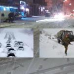 الثلوج تغمر الجزائر : 7 قتلى و34 جريحا وعشرات الطرقات المقطوعة في يوم واحد