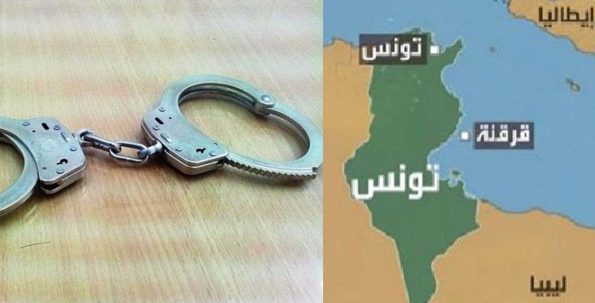 قرقنة : القبض على 4 جزائريين من بينهم فتاة حاولوا الإبحار خلسة