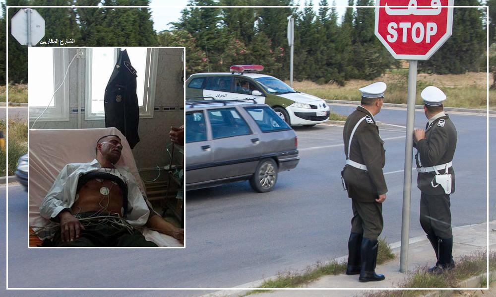 بعد اعتدائه بالعنف على ضابط مرور : إيقاف معتمد النفيضة