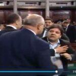 صور/ البرلمان : ملاسنات وتشابك بالأيدي.. والناصر يرفع الجلسة