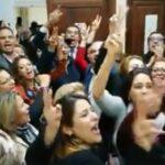 فيديو: نُوّاب نداء تونس يحتفلون بعدم التمديد لهيئة بن سدرين