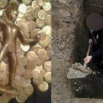 القيروان: يعثر على تماثيل ذهبيّة خلال حفر قبر والده
