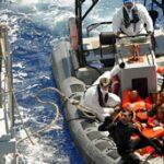 """من بينهم طفل: جيش البحر ينقذ مجموعة من """"الحارقين"""""""