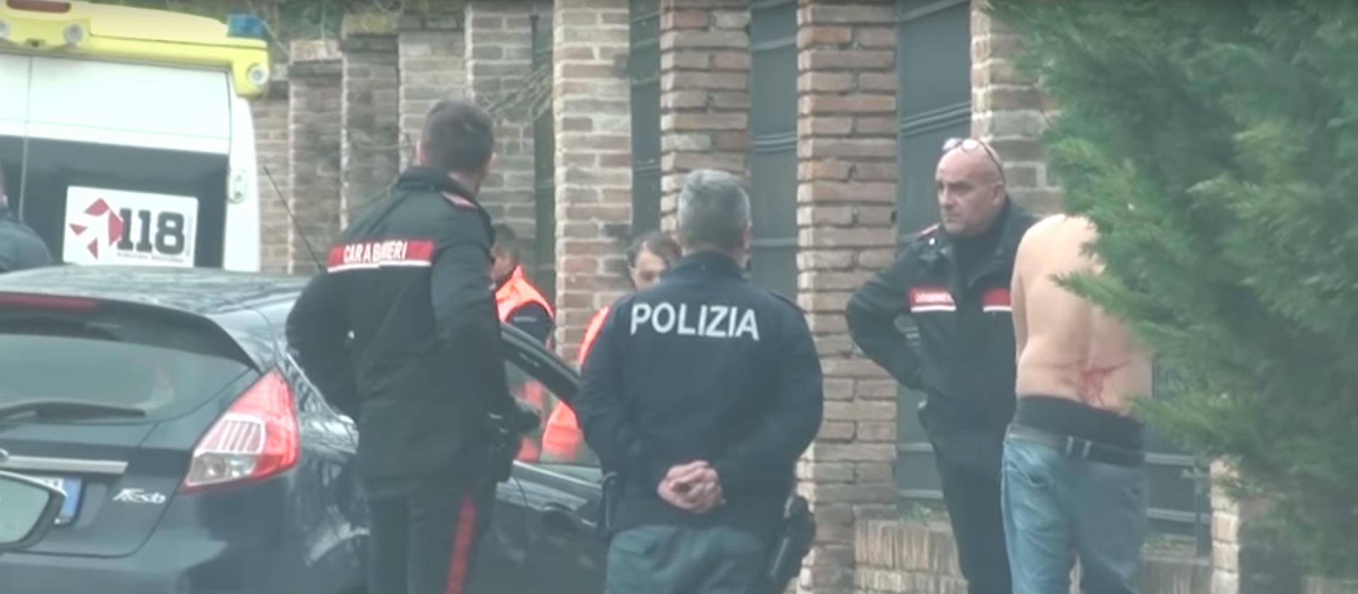 فيديو/ايطاليا: ايقاف تونسي قطّع أوردة يد ابن بلده