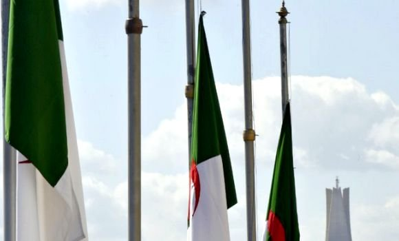 تنكيس العلم الجزائري في التمثيليات الديبلوماسية بالخارج