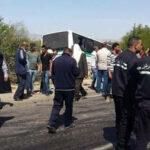 بين سبيبة وسبيطلة: اصطدام حافلة بسيّارات يُخلّف 3 قتلى و21 جريحا