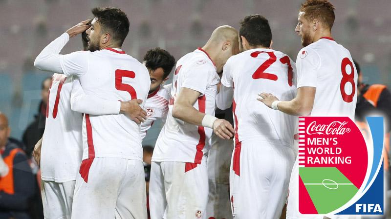 في قفزة تاريخية: المنتخب التونسي يحتلّ المركز 14 عالميا