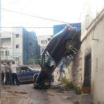 """قفصة: سيّارة """"مجنونة"""" تتسبّب في انهيار منزل !"""