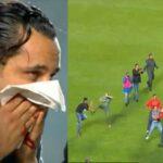 العنف يُفسد مباراة الباراج