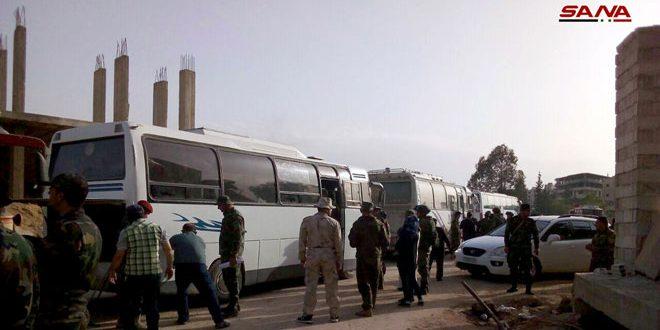 سوريا:طرد آخر جيوب داعش الارهابي من دمشق