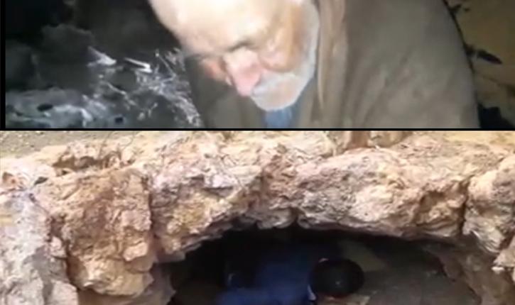 تستور: العثور على شيخ يعيش في مغارة منذ 30 سنة (فيديو)