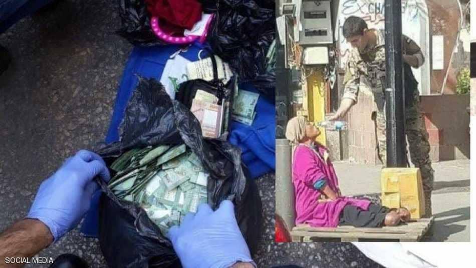 """صور/ لها حساب بأكثر من مليار ليرة: وفاة """"أغنى متسوّلة في لبنان"""""""