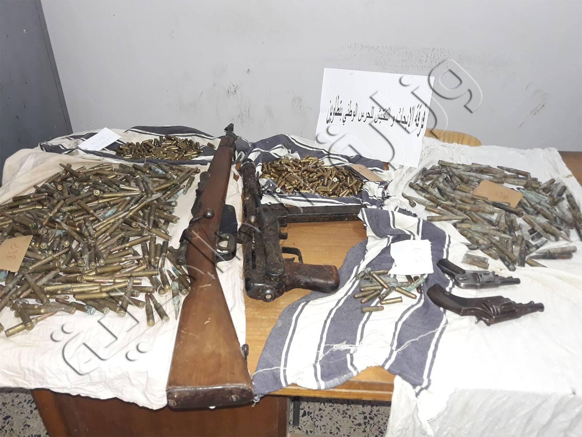 ترسانة الأسلحة بتطاوين: مخبأ أرضي يكشف المزيد (صور)