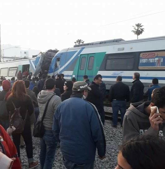 متابعة: قتيل و60 مصابا في تصادم قطارين بمقرين