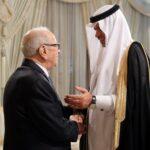 رئيس الجمهورية يستقبل وزيرا سعوديا