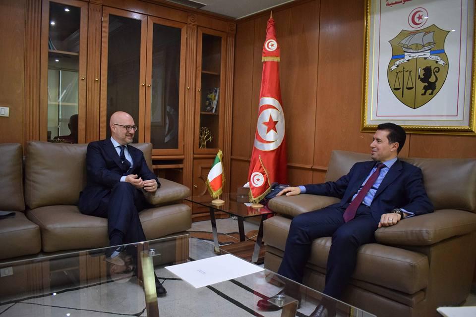 """سفير إيطاليا: شركات منها """"فيات"""" تعتزم الاستثمار بتونس"""