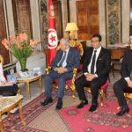 3 سفراء في مكتب محمد الناصر