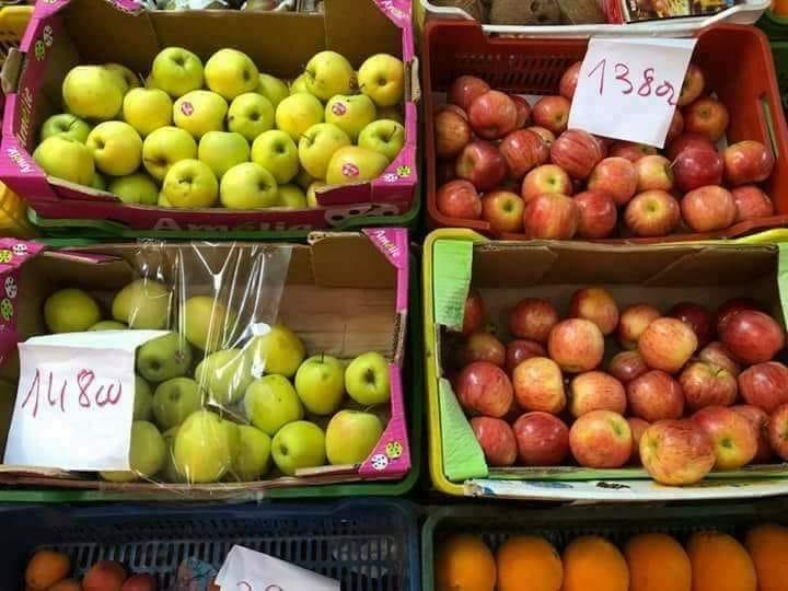 """كلغ التفاح بـ14 دينارا : اتحاد الشغل يستعرض """"انجازات الحكومة العظيمة"""""""