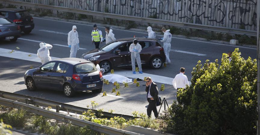 """مرسيليا: مُلثّمون يُطلقون النار بحي """"بوسرين"""" (فيديو)"""
