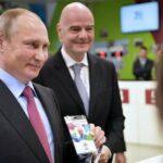 بوتين يحضر المباراة الافتتاحية للمونديال