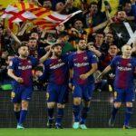 برشلونة يحتفل بمائوية نيلسون مانديلا