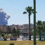 سلسلة انفجارات تهز محيط مطار عسكري بسوريا