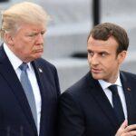 ماكرون: إجراءات ترامب تقود إلى الحروب