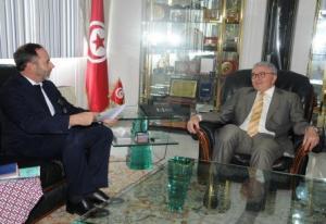 رئيس بعثة الإتحاد الأوروبي في مكتب الزبيدي